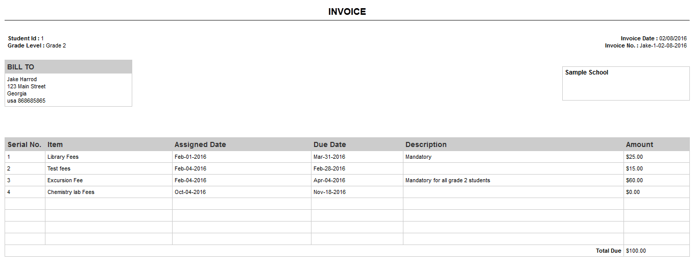 How To Obtain The Student S Billing Invoice Os4ed