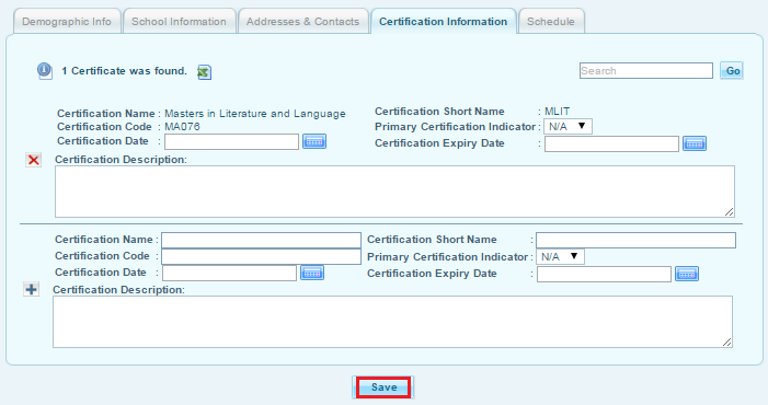 how to add staff for lotto certification